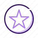 award, bookmark, favorite, favourite, rating, star icon