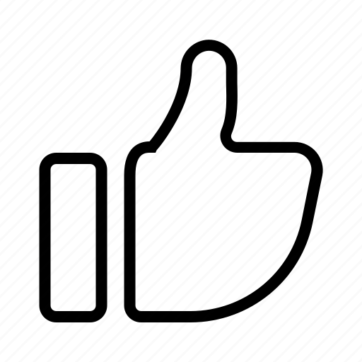 Hand, like, thumbs, up icon - Download on Iconfinder