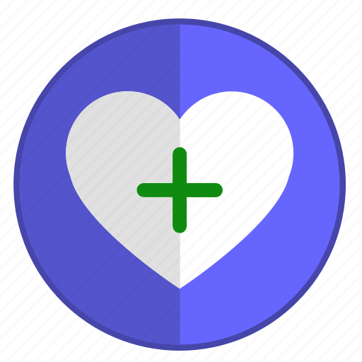 add, feel, heart, like, love icon