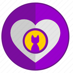 cat, feel, heart, kitty, love, romantic icon