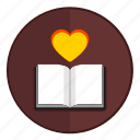 book, literature, love, passion, reading, romantic icon