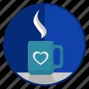 coffee, cup, love, loving, romantic, tea