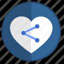 feel, heart, like, link, love, url, web