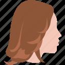 cut, farah, feathered, flair, flip, hair, style icon