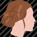 bun, classic, dresser, hair, haircut, ladies icon