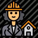 architect, engineer, avatar, occupation, woman