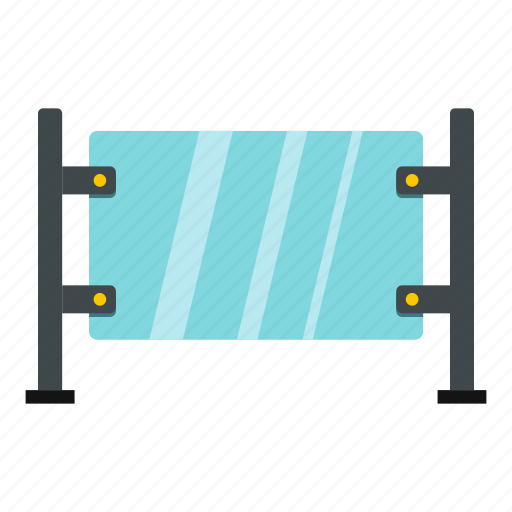 bus, glass gate, outdoor, shelter, stop, street, transit icon