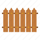architecture, board, decoration, decorative, home, park, wooden fence icon