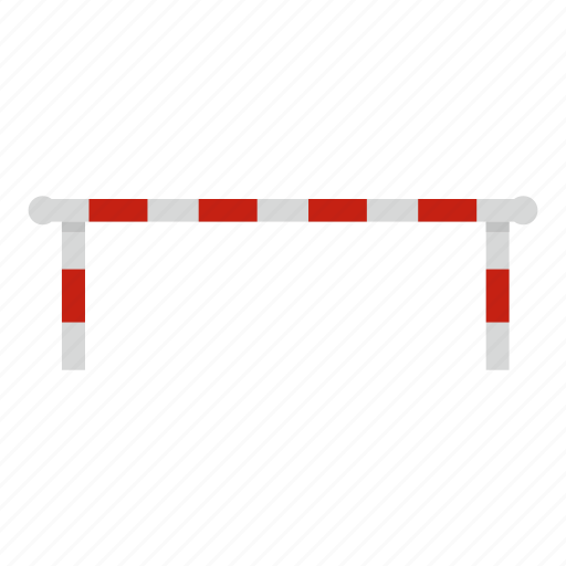 business, closed, construction, control, forbidden, striped, striped barrier icon