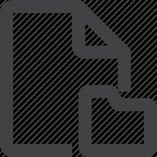 Content, file, folder icon - Download on Iconfinder