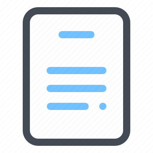 Document, file, management, optimization, page, paper, text icon - Download on Iconfinder