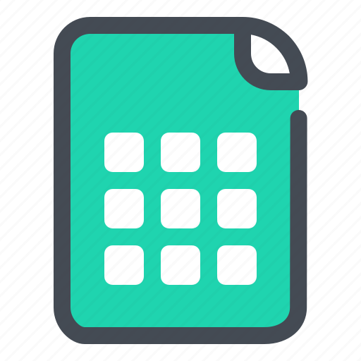Document, file, optimization, doc, excel, sheet, tab icon - Download on Iconfinder
