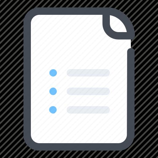 document, file, management, optimization icon