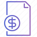 business, cash, coin, currency, money icon