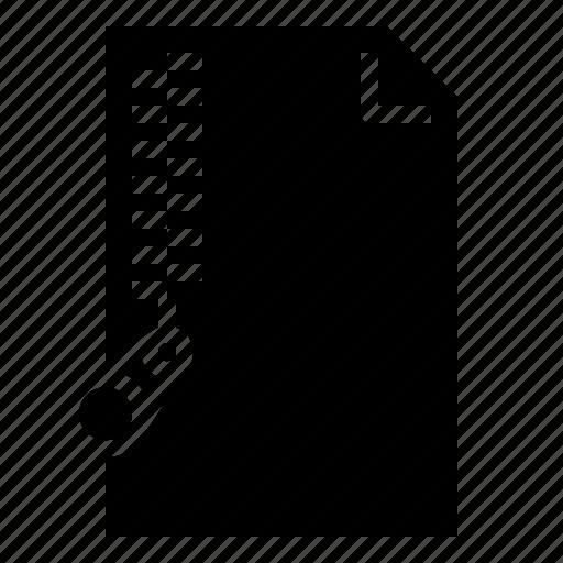 archive, compressed, document, zip icon