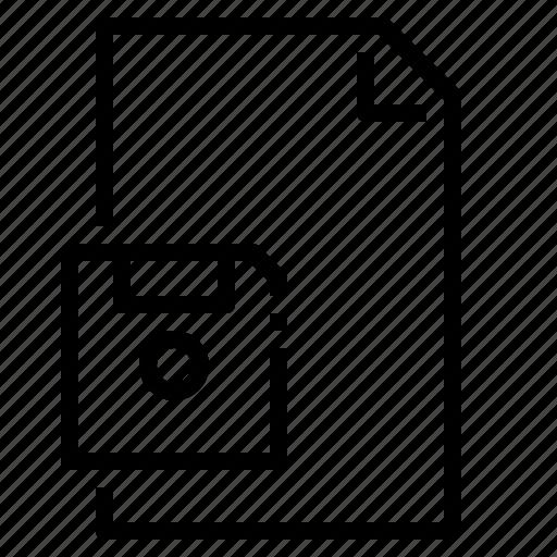 arrow, down, downloading, file, save, web icon