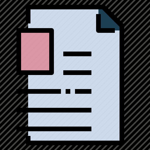 Curriculum, personal, portfolio, profile, resume, vitae icon - Download on Iconfinder