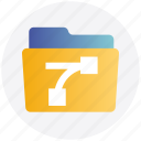 align, alignment folder, document, file and folder, folder icon