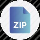 achieve, file, format, zip, zipped, zipped file