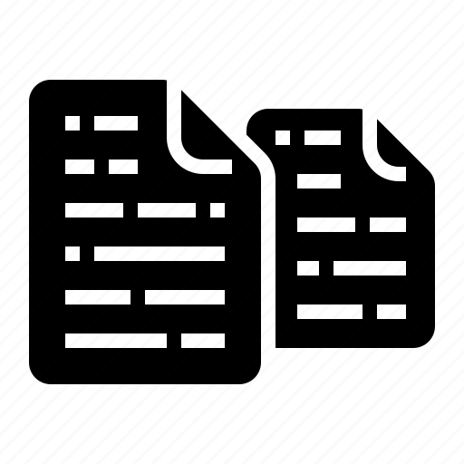 copy, document, duplicate, file, paper icon