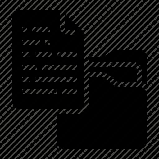 archive, document, file, folder, management icon