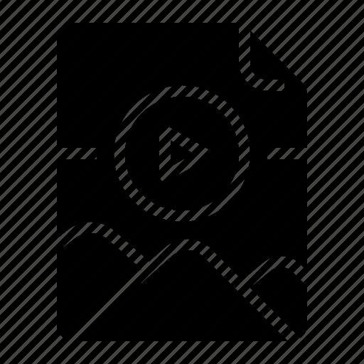 archive, document, file, gif icon