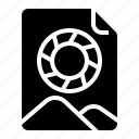 data, file, image, picture, preview icon