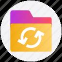 files, document, folder, sync, loading