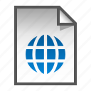 document, file, glob, page, paper icon