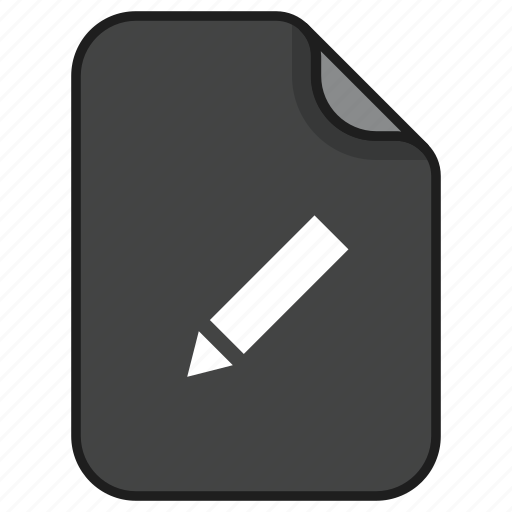 documents, edit, file, note, pencil, text, writing icon