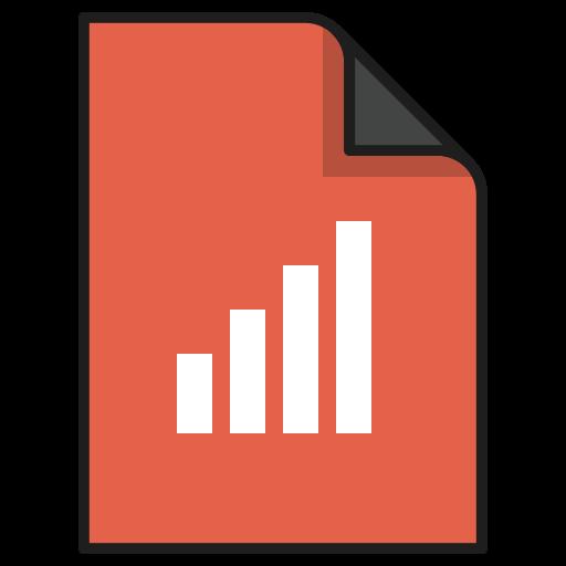 chart, diagram, documents, file, graph, report, statistics icon