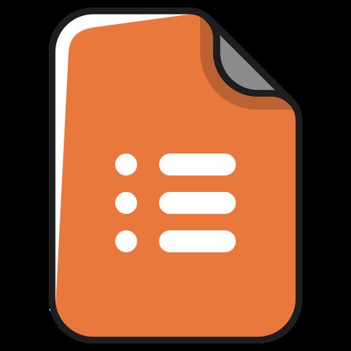 documents, file, list, menu, task, type icon