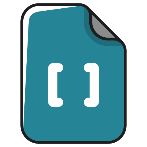 code, content, documents, editing, file icon