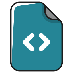code, data, documents, file, format, programming, script icon