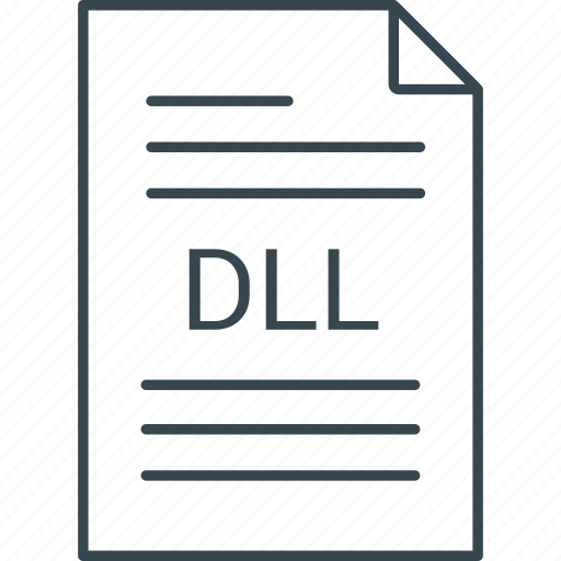 dll, extension, file icon