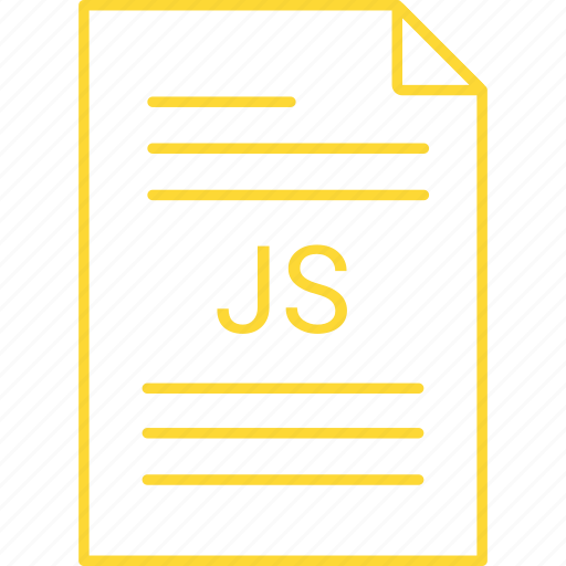 extension, file, js icon