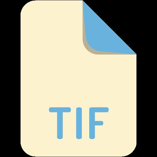 extension, file, name, tif icon