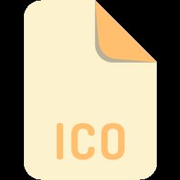 extension, file, ico, name icon