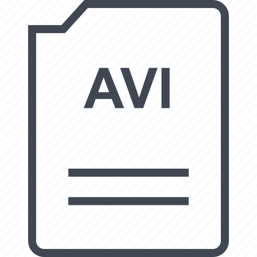 avi, file, name, page icon