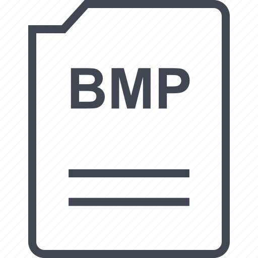 bmp, doc, document, page icon
