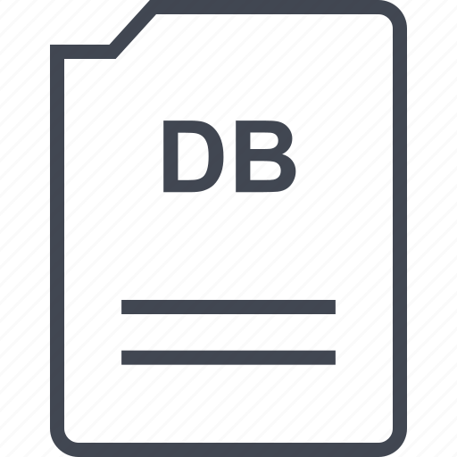 db, file, name, page icon