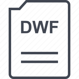 doc, document, dwf, page icon