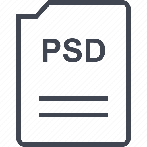 doc, document, page, psd icon