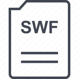 file, name, page, swf icon