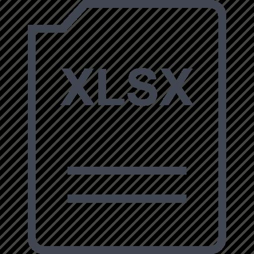 file, name, page, xlsx icon