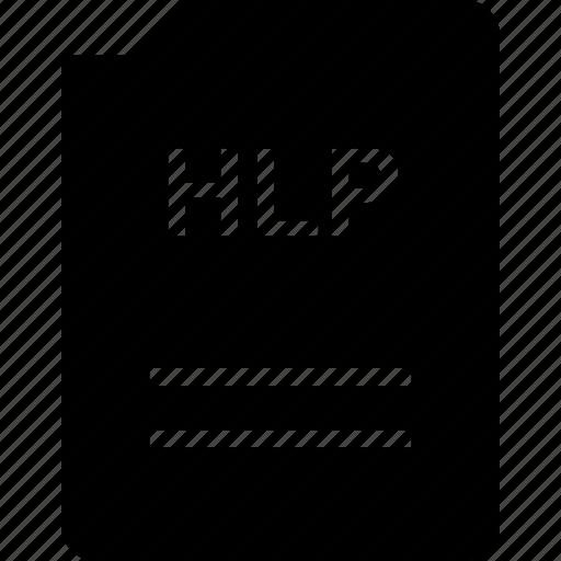 bit, doc, document, file, hlp icon