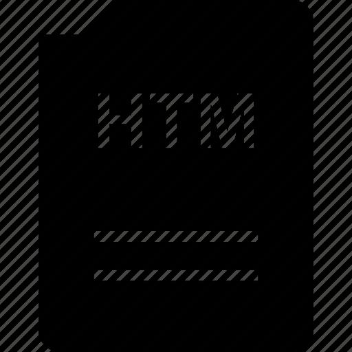 bit, doc, document, file, htm icon