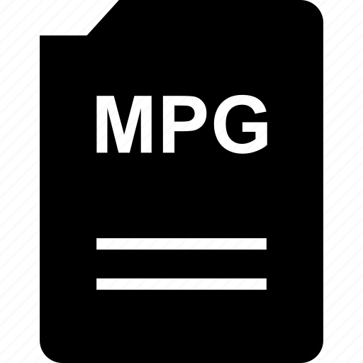 bit, doc, document, file, mpg icon