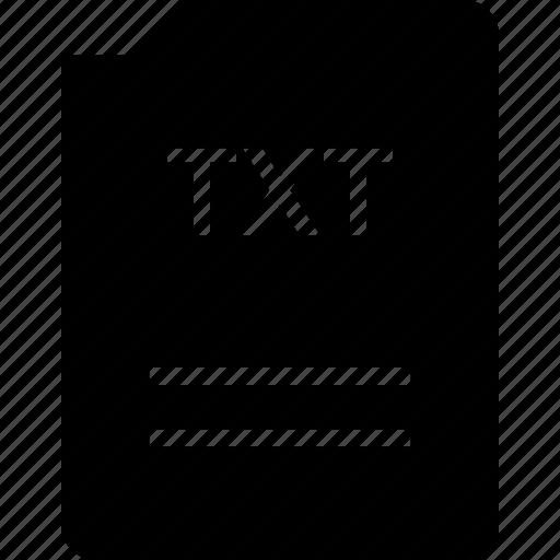 bit, doc, document, file, txt icon