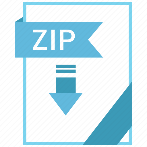 Extension, document, file, zip icon